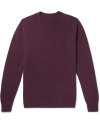 Free Shipping For Cheap Mélange Wool Sweater Anderson & Sheppard Buy Cheap Best Wholesale 1tVvx