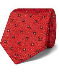 Kingsman - + Turnbull & Asser Rocketman 8cm Silk-jacquard Tie - Lyst