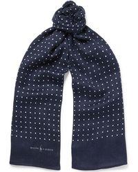 Polo Ralph Lauren | Polka-dot Jersey Scarf | Lyst