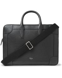 Mulberry - Full-grain Leather Briefcase - Lyst