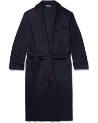 Loro Piana - James Piped Baby Cashmere Robe - Lyst