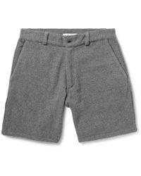 The Elder Statesman - Cashmere Shorts - Lyst