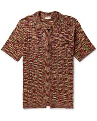 You As - Harvey Space-dyed Mercerised Cotton Shirt - Lyst