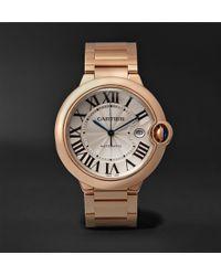 Cartier - Ballon Bleu Automatic 42mm 18-karat Pink Gold Watch - Lyst