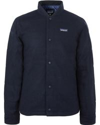 Patagonia - Recycled Wool-blend Bomber Jacket - Lyst