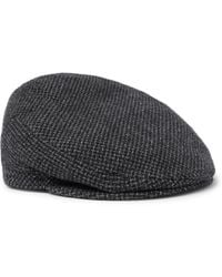 4ac8cf26c59d4 Lyst - Altea Wool-blend Tweed Flat Cap in Gray for Men