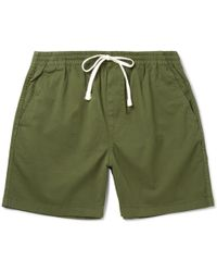 J.Crew - Stretch-cotton Twill Drawstring Shorts - Lyst