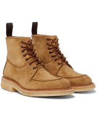 Tricker's - Leo Suede Boots - Lyst