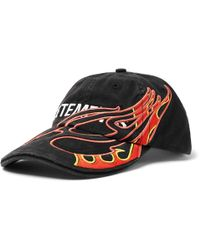 df11fbbb Vetements - X Reebok Embroidered Baseball Cap - Lyst