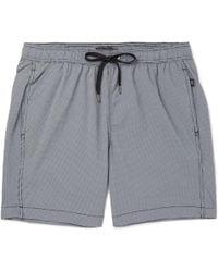 Onia - Mid-length Gingham Swim Shorts - Lyst
