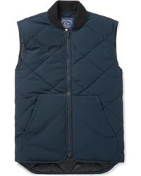 J.Crew - Nordic Quilted Jersey Gilet - Lyst