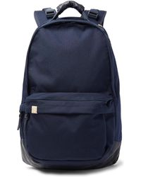 Visvim - Leather-trimmed Cordura Backpack - Lyst