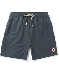 Mollusk - Long-length Cotton-blend Swim Shorts - Lyst