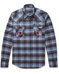 Dolce & Gabbana - Check Shirt - Lyst
