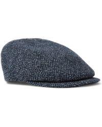 Kingsman - + Lock   Co Hatters Drifter Wool-tweed Flat Cap - Lyst 0ea987f48185