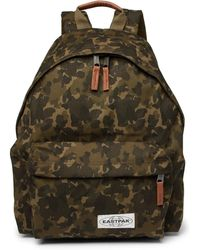 Eastpak - Padded Pak'r Camouflage-print Canvas Backpack - Lyst