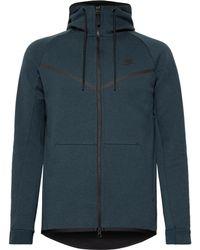 Nike - Sportswear Cotton-blend Tech Fleece Zip-up Hoodie - Lyst