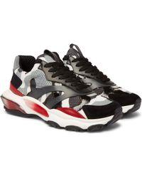 Valentino - Garavani Bounce Sneakers - Lyst