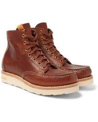 Visvim - Blackstone Leather Boots - Lyst