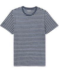 J.Crew - Vincent Striped Mélange Cotton-jersey T-shirt - Lyst