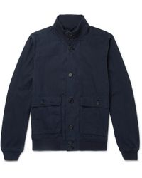 Aspesi | Washed-cotton Jacket | Lyst