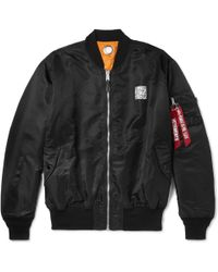 Vetements - + Alpha Industries Oversized Reversible Printed Shell Bomber Jacket - Lyst