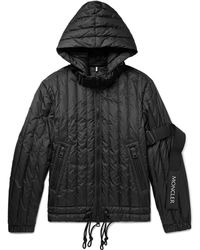 Moncler - Quilted Shell Hooded Down Jacket - Lyst