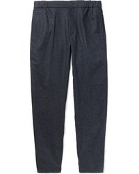 Club Monaco - Tapered Donegal Woven Trousers - Lyst