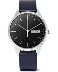 Uniform Wares - C40 Stainless Steel And Rubber Watch - Lyst