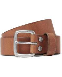 J.Crew | 5cm Brown Brody Leather Belt | Lyst