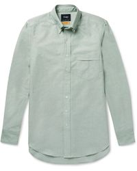 Drake's | Easyday Slim-fit Button-down Collar Cotton Oxford Shirt | Lyst