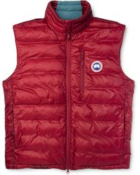 Canada Goose - Lodge Packable Quilted Shell Down Gilet - Lyst