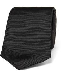 Turnbull & Asser - 8cm Ribbed Silk Tie - Lyst