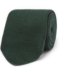 Berluti - 8cm Knitted Wool Tie - Lyst