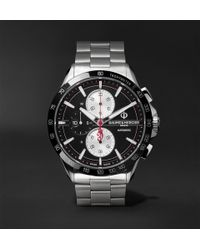 Baume & Mercier - Clifton Club Indian Legend Tribute Chief Chronograph 44mm Stainless Steel Watch - Lyst