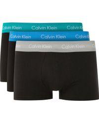 Calvin Klein - Underwear Liquid Stretch Micro Low-rise Trunk - Lyst