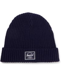 Herschel Supply Co. - Morris Ribbed-knit Beanie - Lyst