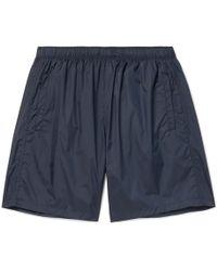 Our Legacy - Drape Mid-length Swim Shorts - Lyst