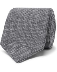 Canali - 8cm Wool And Silk-blend Jacquard Tie - Lyst