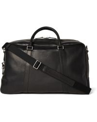 Shinola - Signature Grained-leather Duffle Bag - Lyst