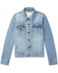 Rag & Bone - Definitive Slim-fit Denim Jacket - Lyst