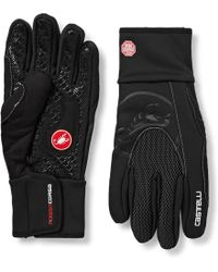 Castelli - Estremo Microsuede-trimmed Gore Windstopper Cycling Gloves - Lyst