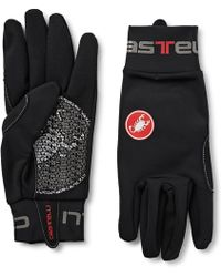 Castelli - Lightness Microsuede-trimmed Thermoflex Cycling Gloves - Lyst