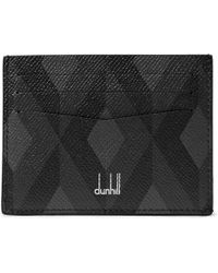 Dunhill | Cadogan Printed Pebble-grain Leather Cardholder | Lyst