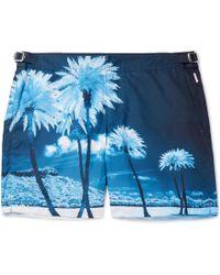 564d1d1b7b Lyst - Orlebar Brown Bulldog Gilot Swim Shorts in Blue for Men