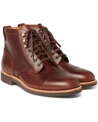 J.Crew | Kenton Leather Pacer Boots | Lyst