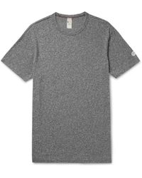 Todd Snyder - Mélange Cotton-jersey T-shirt - Lyst