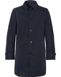 Aspesi - Slim-fit Garment-dyed Shell Trench Coat - Lyst