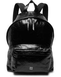 Givenchy - Creased-leather Backpack - Lyst
