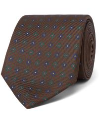 Drake's - 8cm Printed Silk Tie - Lyst